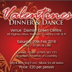 Valentines 2016 Invitation